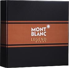 Fragrances, Perfumes, Cosmetics Montblanc Legend Night - Set (edp/50ml + ash/balm/100ml)