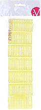 Fragrances, Perfumes, Cosmetics Velcro Curlers, 499597, Yellow - Inter-Vion