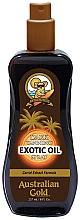 Fragrances, Perfumes, Cosmetics Tan Accelerator Oil Spray - Australian Gold Dark Tanning Exotic Oil Spray