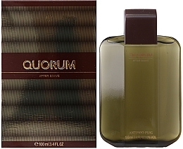 Fragrances, Perfumes, Cosmetics Antonio Puig Quorum - After Shave Lotion