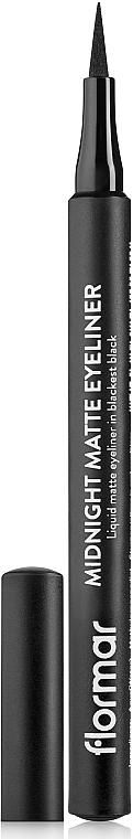 Eyeliner-Pen - Flormar Midnight Matte Eyeliner