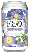 """Fragrances, Perfumes, Cosmetics Scented Candle """"Violet"""" - FraLab Flo Violetta"""