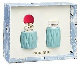 Fragrances, Perfumes, Cosmetics Miu Miu Miu Miu - Set (edp/50ml + b/lot/100ml)