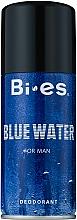 Fragrances, Perfumes, Cosmetics Bi-Es Blue Water Men - Deodorant