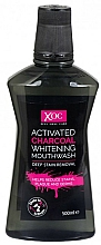 """Fragrances, Perfumes, Cosmetics Mouthwash """"Activated Carbon"""" - Xoc Activated Charcoal Whitening Mouthwash"""
