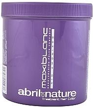 Fragrances, Perfumes, Cosmetics Bleaching Powder - Abril et Nature Color Hair Bleach Maxiblanc Blonde