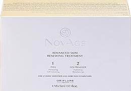 Fragrances, Perfumes, Cosmetics Two-Phase Skin Restoration Peeling - Oriflame NovAge Advanced Skin Renewing Treatment