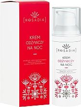 Fragrances, Perfumes, Cosmetics Nourishing Night Face Cream - Rosadia