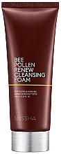 Fragrances, Perfumes, Cosmetics Propolis Cleansing Foam - Missha Bee Pollen Renew Cleansing Foam