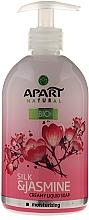 "Fragrances, Perfumes, Cosmetics Liquid Cream Soap ""Silk and Jasmine"" - Apart Natural Silk & Jasmine Soap"