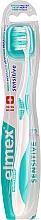 Fragrances, Perfumes, Cosmetics Soft Toothbrush, turquoise - Elmex Sensitive Toothbrush Extra Soft