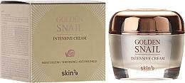 Fragrances, Perfumes, Cosmetics Snail Mucus and Gold Face Cream - Skin79 Golden Snail Intensive Cream