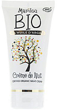 Fragrances, Perfumes, Cosmetics Night Rejuvenating Face Cream - Marilou Bio Creme de Nuit Anti-Age