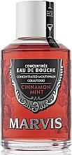 Fragrances, Perfumes, Cosmetics Cinnamon & Mint Mouthwash - Marvis Concentrate Cinnamon Mint Mouthwash