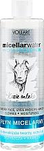 Fragrances, Perfumes, Cosmetics Moisturizing Micellar Water - Vollare Goat's Milk Micellar Water Hydra Hyaluron