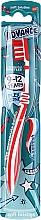 Fragrances, Perfumes, Cosmetics Kids Toothbrush, 9-12 years, red-white - Aquafresh Advance Soft