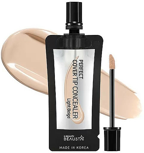 Face Concealer - Beausta Perfect Cover Tip Concealer — photo N2