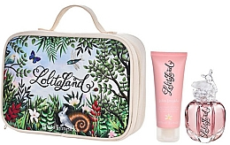 Fragrances, Perfumes, Cosmetics Lolita Lempicka Lolitaland - Set (edp/40ml + b/lot/75ml + bag)