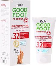 Fragrances, Perfumes, Cosmetics Anti-Callus Gel - Delia Cosmetics Good Foot Podology Nr 3.2
