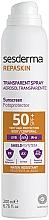 Fragrances, Perfumes, Cosmetics Sunscreen Body Spray - SesDerma Laboratories Repaskin Aerosol Spray SPF50