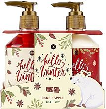 Fragrances, Perfumes, Cosmetics Set - Accentra Hello Winter Baked Apple Bath Set (sh/gel/250ml + lot/250ml)