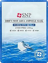 Fragrances, Perfumes, Cosmetics Rejuvenating Bird's Nest Mask - SNP Birds Nest Aqua Ampoule Mask