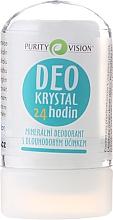 Fragrances, Perfumes, Cosmetics Mineral Deodorant - Purity Vision Deo Krystal 24 Hour Mineral Deodorant