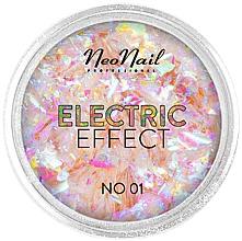 Fragrances, Perfumes, Cosmetics Naim Design Glitter - NeoNail Professional Electric Effect Flakes