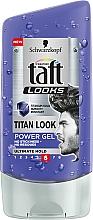 Fragrances, Perfumes, Cosmetics Hair Gel - Schwarzkopf Taft Looks Titan Look Extreme Gel Radically Strong