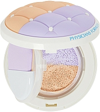 Fragrances, Perfumes, Cosmetics Primer-Corrector SPF20 - Physicians Formula Mineral Wear Talc-Free Cushion Corrector + Primer Duo