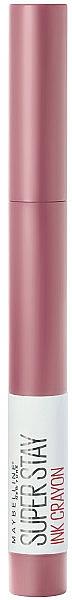 Lipstick Crayon - Maybelline SuperStay Ink Crayon