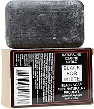 Fragrances, Perfumes, Cosmetics Natural Black Soap - Biomika Black For White