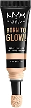Fragrances, Perfumes, Cosmetics Radiant Concealer - NYX Professional Makeup Born To Glow Radiant Concealer