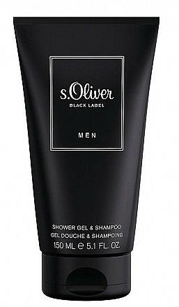 S.Oliver Black Label Men - Perfumed Shower Gel — photo N1