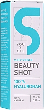 Fragrances, Perfumes, Cosmetics Hyaluronic Acid Face Serum - You and Oil Beauty Shot Hyaluronic Acid