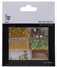 Fragrances, Perfumes, Cosmetics Nail Design Set, 149312 - Peggy Sage Mini Kit Nail Art