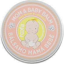 Fragrances, Perfumes, Cosmetics Mother and Baby Balm - Roofa Calendula & Panthenol Mom & Baby Shea Butter & Calendula Balm