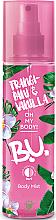 Fragrances, Perfumes, Cosmetics Body Spray - B.U. Frangipani & Vanilla Body Mist