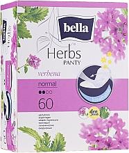 Fragrances, Perfumes, Cosmetics Sanitary Pads Panty Herbs Verbena, 60 pcs - Bella