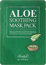 Fragrances, Perfumes, Cosmetics Moisturizing Face Mask - Benton Aloe Soothing Mask Pack
