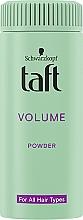 "Fragrances, Perfumes, Cosmetics Styling Hair Powder ""Instant Volume"" - Schwarzkopf Taft Volumen Powder"