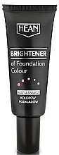 Fragrances, Perfumes, Cosmetics Makeup Brightener of Foundation - Hean Brightener of Foundation Colour