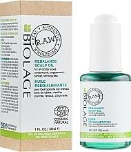 Fragrances, Perfumes, Cosmetics Rebalance Scalp Oil - Biolage R.A.W. Scalp Care Rebalance Scalp Oil