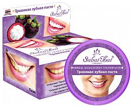 Fragrances, Perfumes, Cosmetics Mangosteen Toothpaste - Sabai Thai Herbal Mangosteen Toothpaste