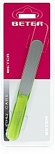 Fragrances, Perfumes, Cosmetics Nail File with Laser Surface, ergonomic, light green - Beter Beauty Care