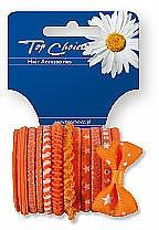 Elastic Hair Bands, 22005, 12 pcs - Top Choice — photo N1