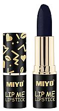 Fragrances, Perfumes, Cosmetics Moisturizing Lipstick - Miyo Lip Me Lipstick Belladonna
