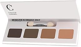 Fragrances, Perfumes, Cosmetics Eyeshadow Palette - Couleur Caramel Bio Sublime Eye Palette