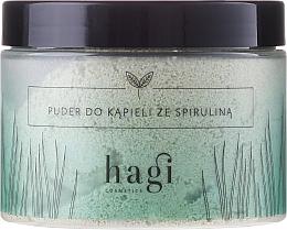 Fragrances, Perfumes, Cosmetics Bath Powder with Spirulina - Hagi Bath Puder