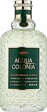 Fragrances, Perfumes, Cosmetics Maurer & Wirtz 4711 Acqua Colonia Blood Orange & Basil - Eau de Cologne